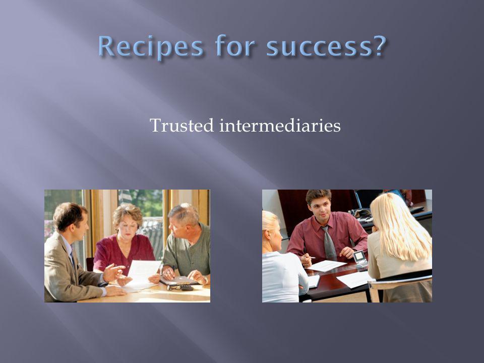 Trusted intermediaries