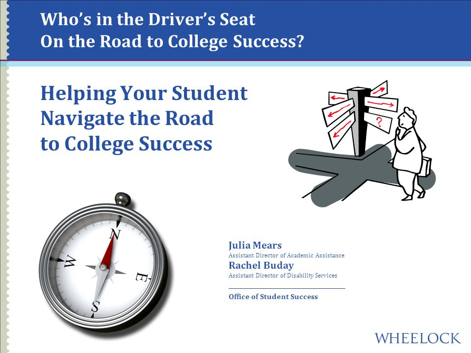 What is the Destination.How do students define college success.
