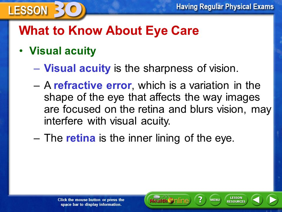 What to Know About Eye Care