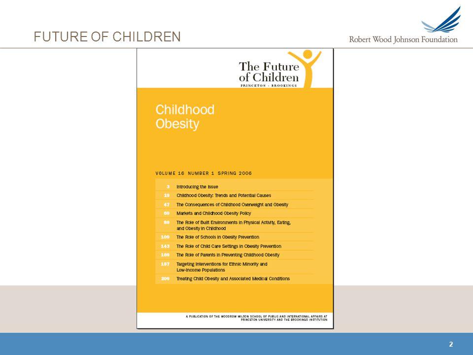 2 FUTURE OF CHILDREN