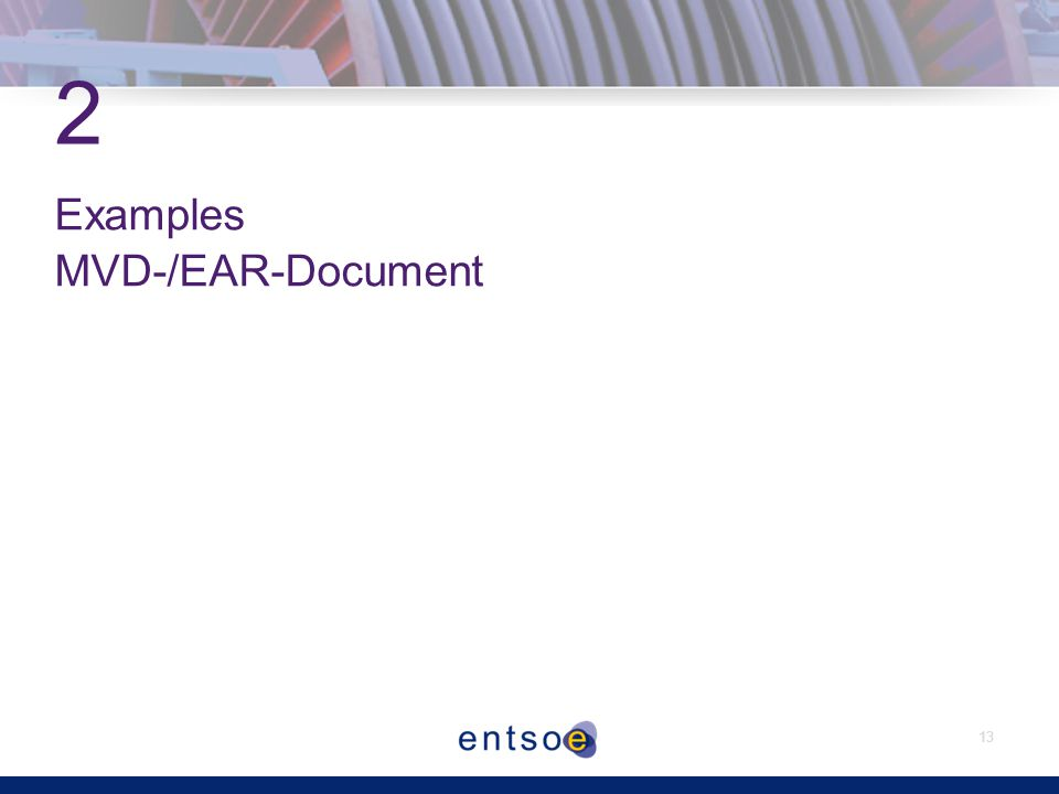 13 2 Examples MVD-/EAR-Document