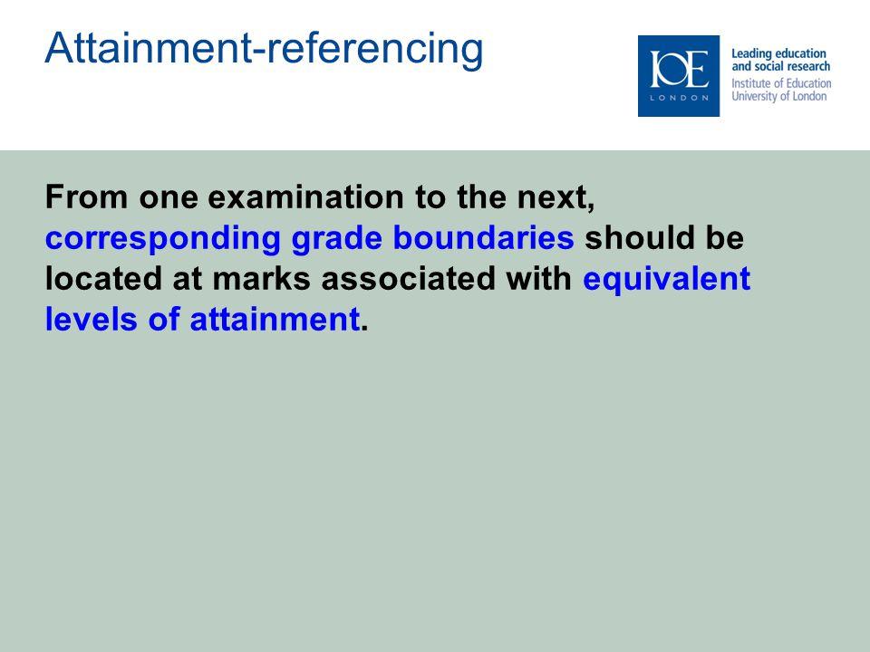 Summer 2012 GCSE English anomaly Summer 2002 Curriculum 2000 anomaly The 'fiascos'