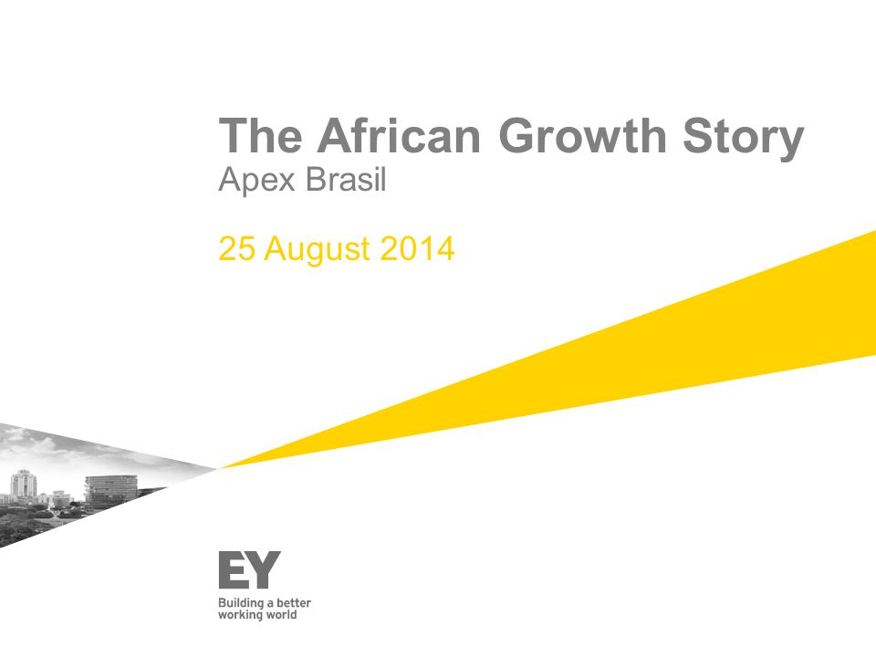 The African Growth Story Apex Brasil 25 August 2014
