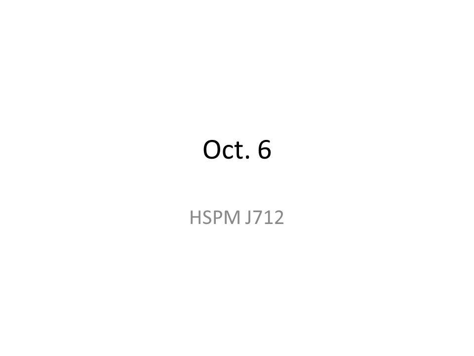 Oct. 6 HSPM J712