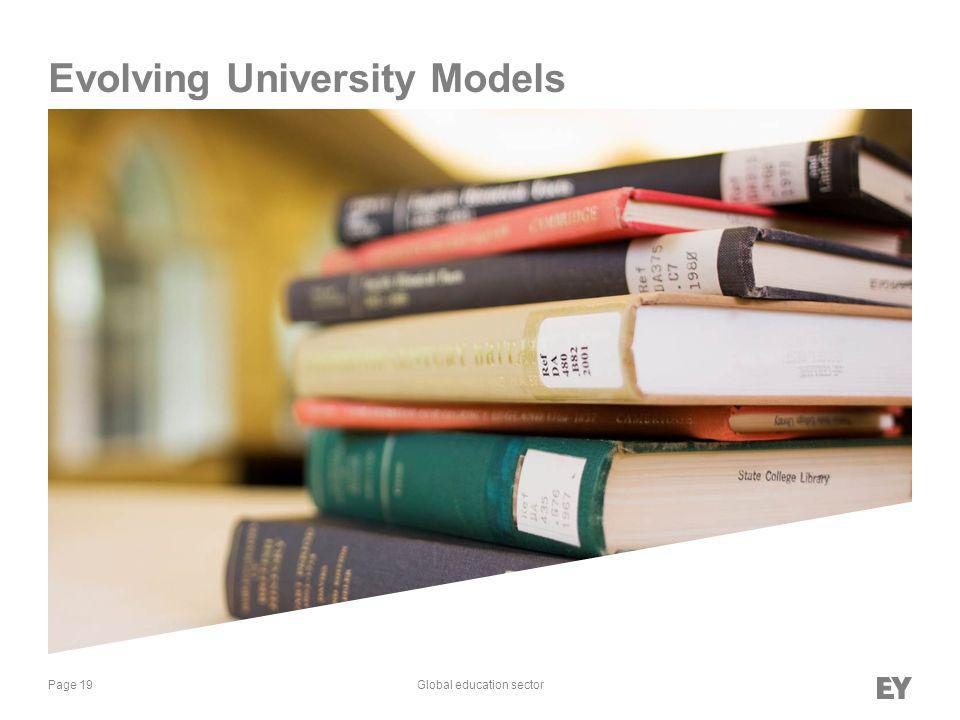 Page 19Global education sector Evolving University Models