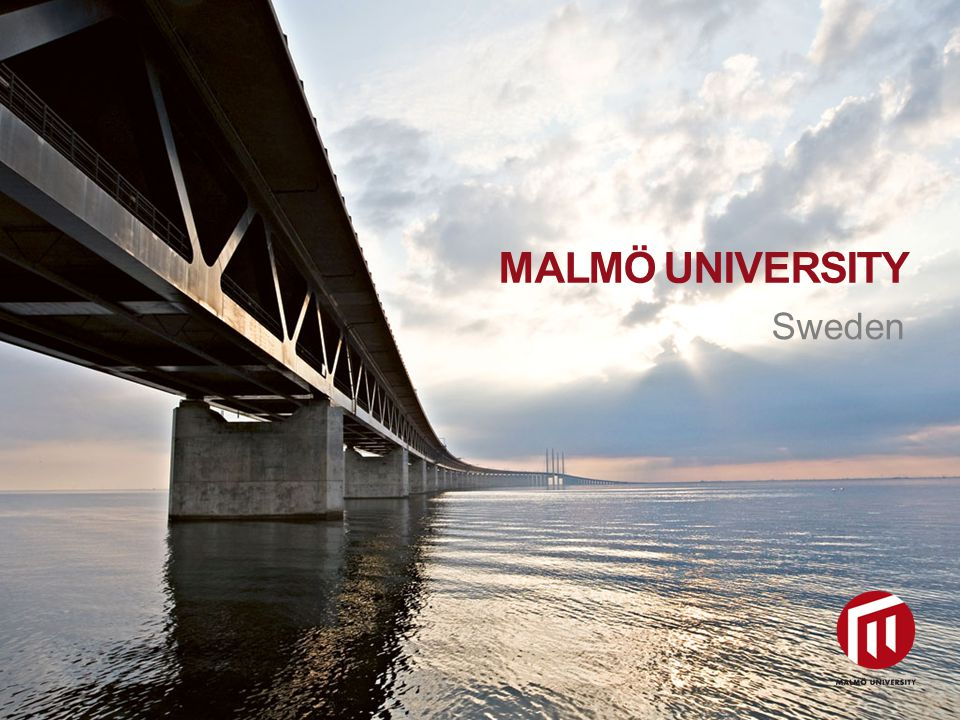 2010 05 04 Sweden MALMÖ UNIVERSITY