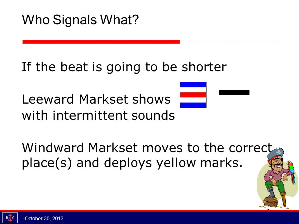Who Signals What.