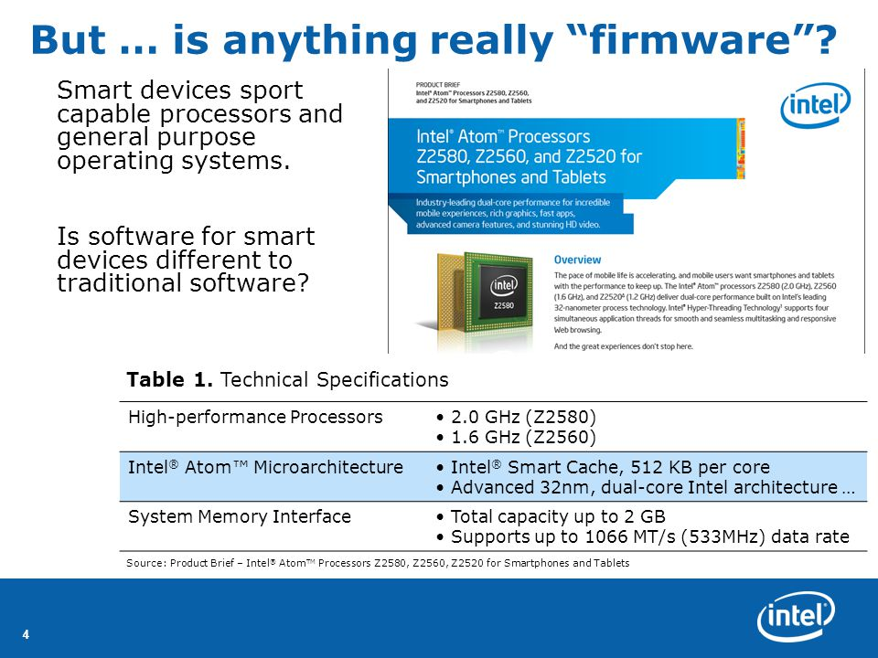 44 But … is anything really firmware .