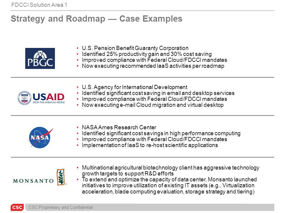 CSC Proprietary and Confidential U.S.