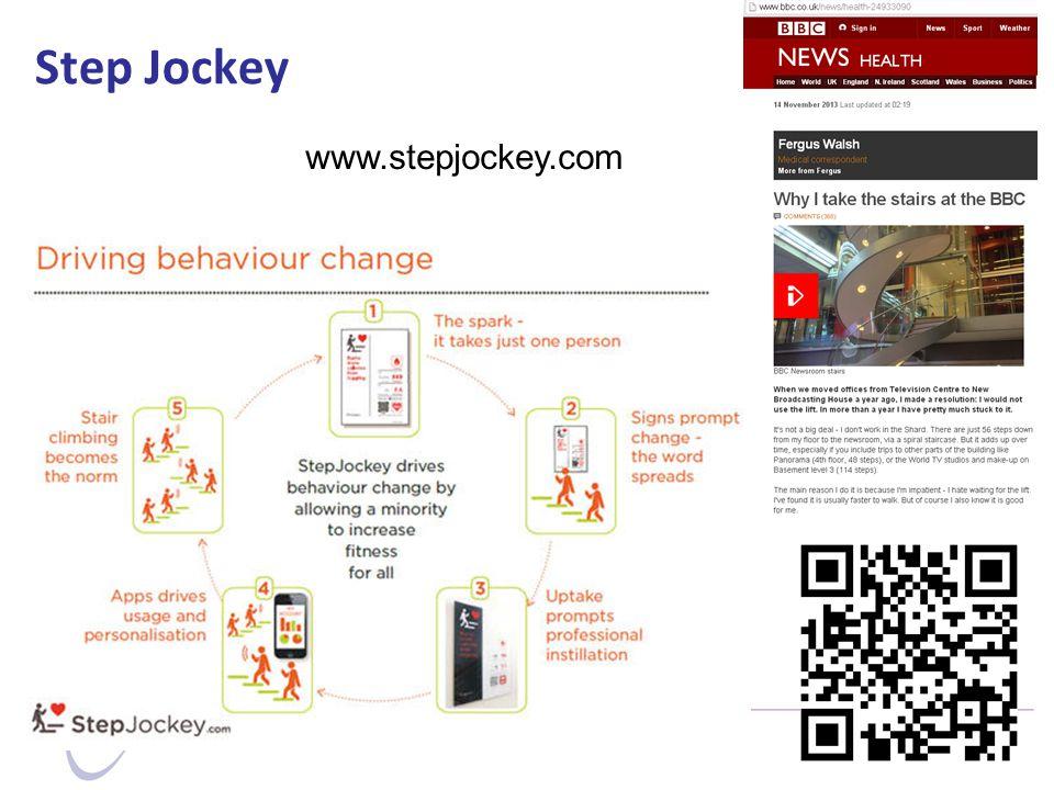 Step Jockey www.stepjockey.com
