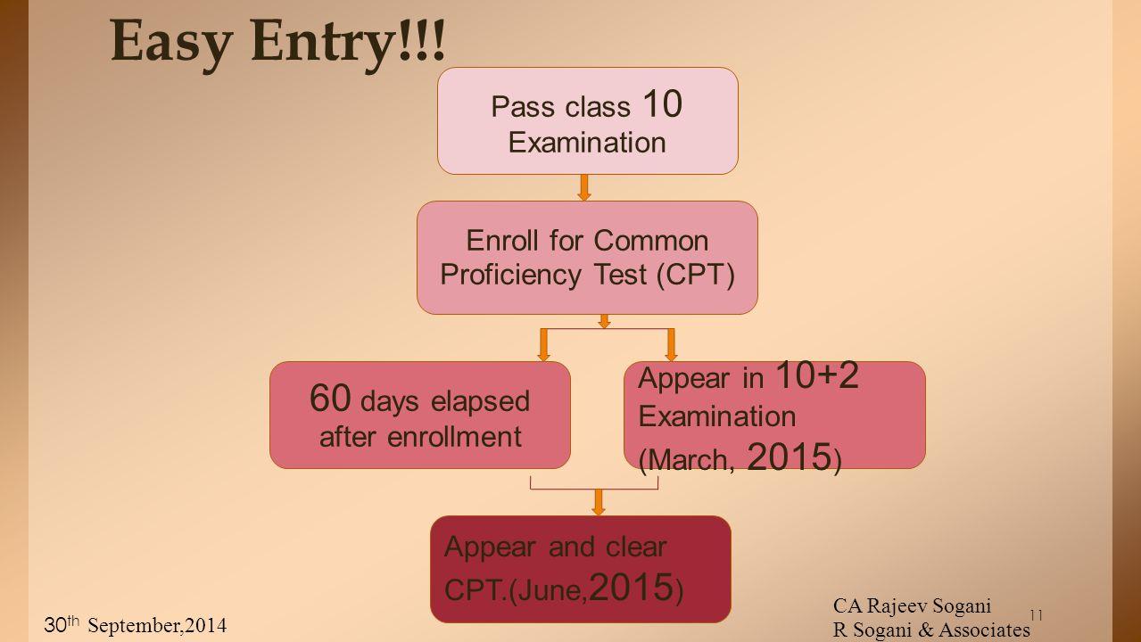 11 Easy Entry!!.