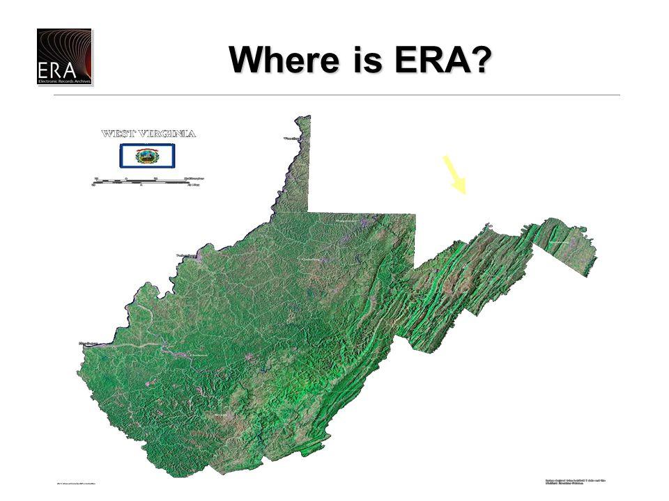 Where is ERA Where is ERA