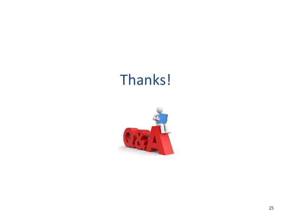 Thanks! 25