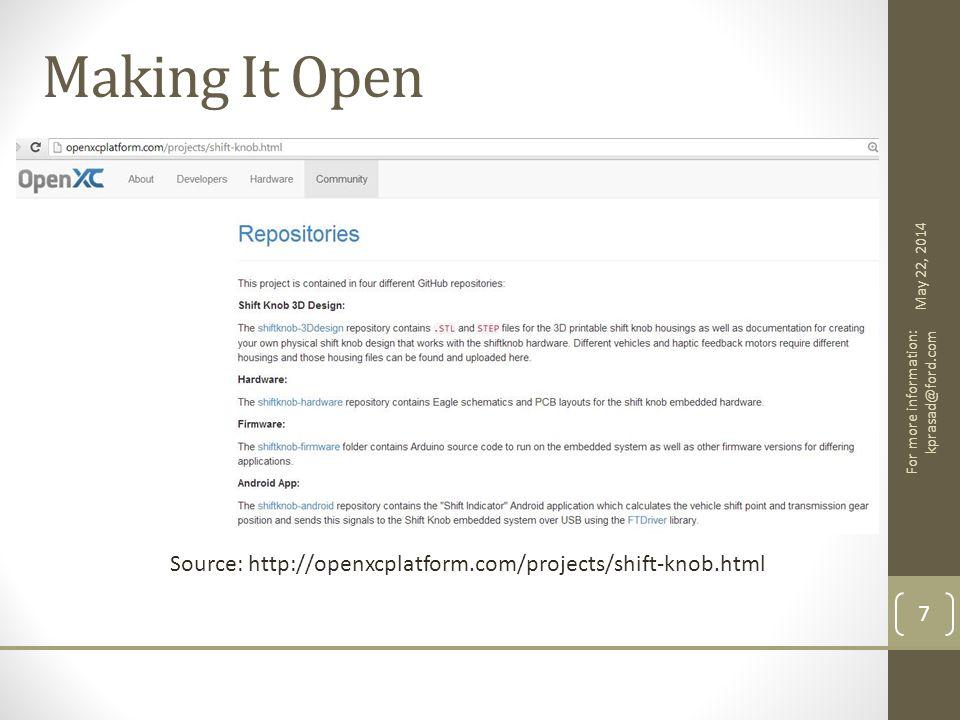 Flexible Software openxcplatform.com