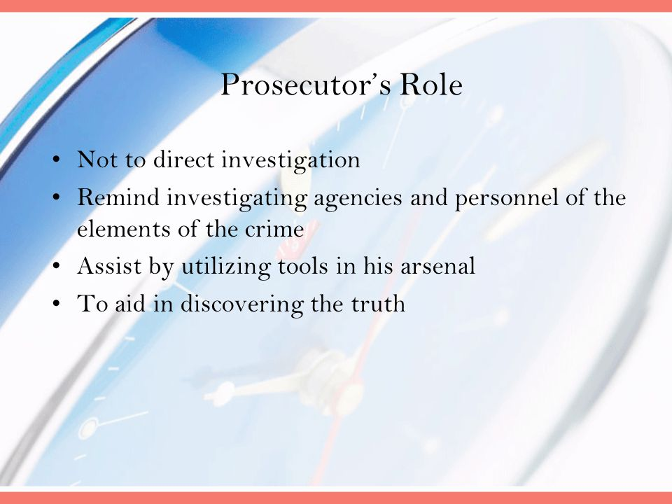 Proving the Crime – the Essential Elements Operation Impairment Criminal Negligence