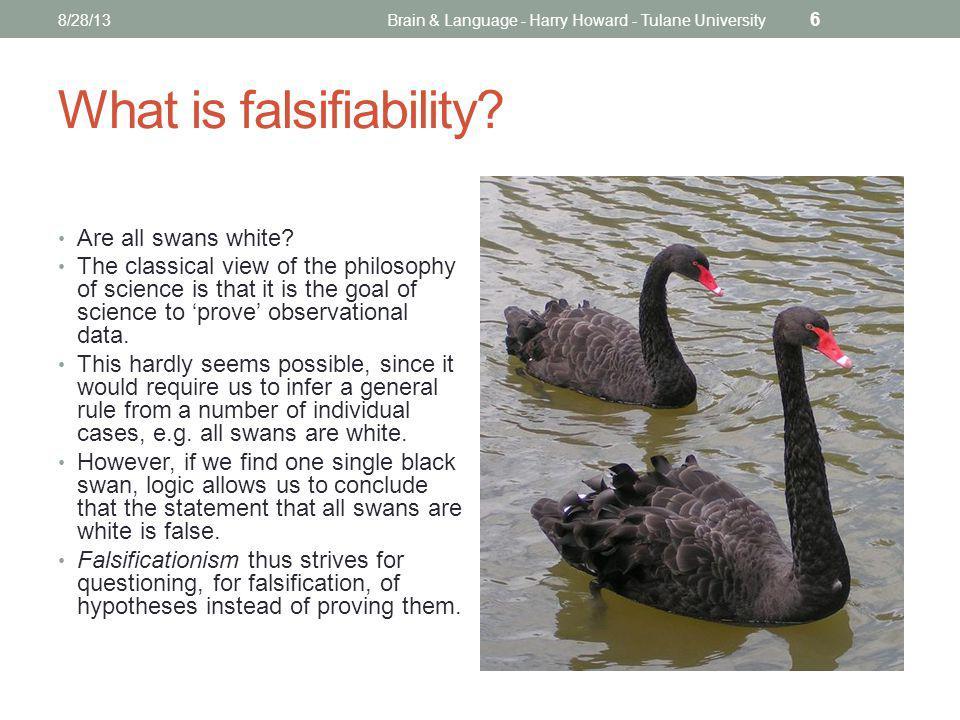 Falsifiability Is it good or bad.
