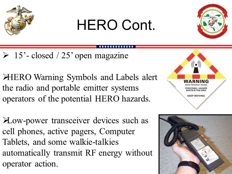 HERO Cont.