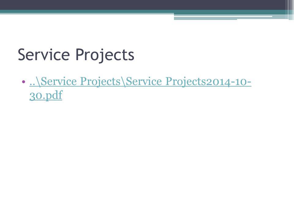 Service Projects..\Service Projects\Service Projects2014-10- 30.pdf..\Service Projects\Service Projects2014-10- 30.pdf