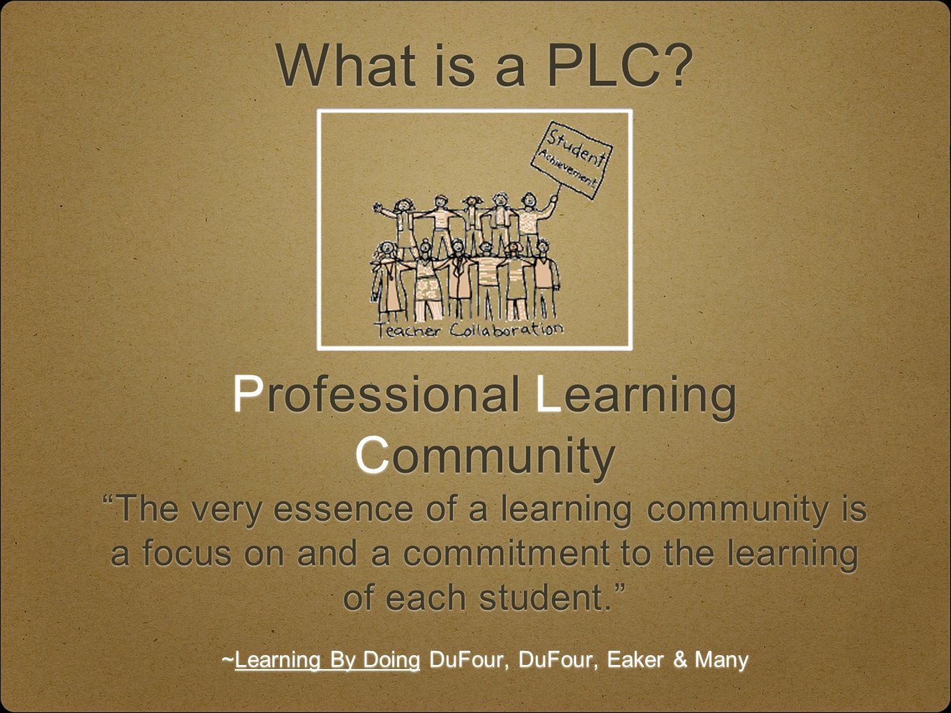 What is a PLC.