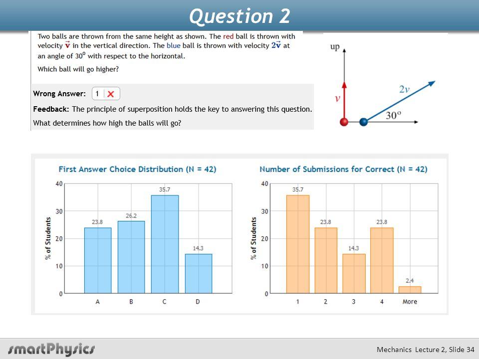 Question 2 Mechanics Lecture 2, Slide 34