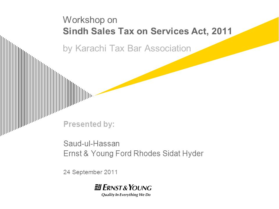 Sindh Sales Tax on Services Act, 2011 Page 32 Return with Annexures ► SST 03 – Row No.