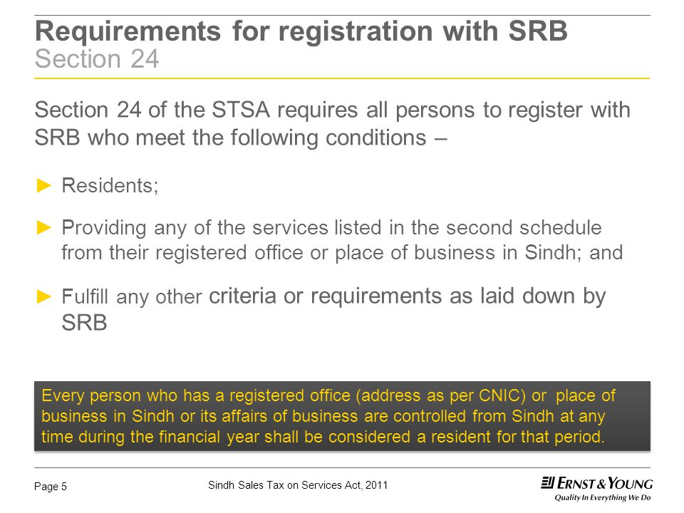 Sindh Sales Tax on Services Act, 2011 Page 16 Suspension & Cancellation of Registration Section 25 of STSA & Rule 10 of the STSR ► SRB may suspend registration where a registered person is suspected of committing any fraud, deliberate and intentional, non- payment, short payment or evasion of tax.