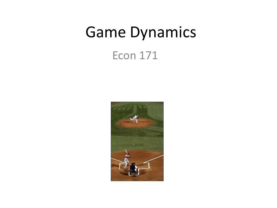 Game Dynamics Econ 171