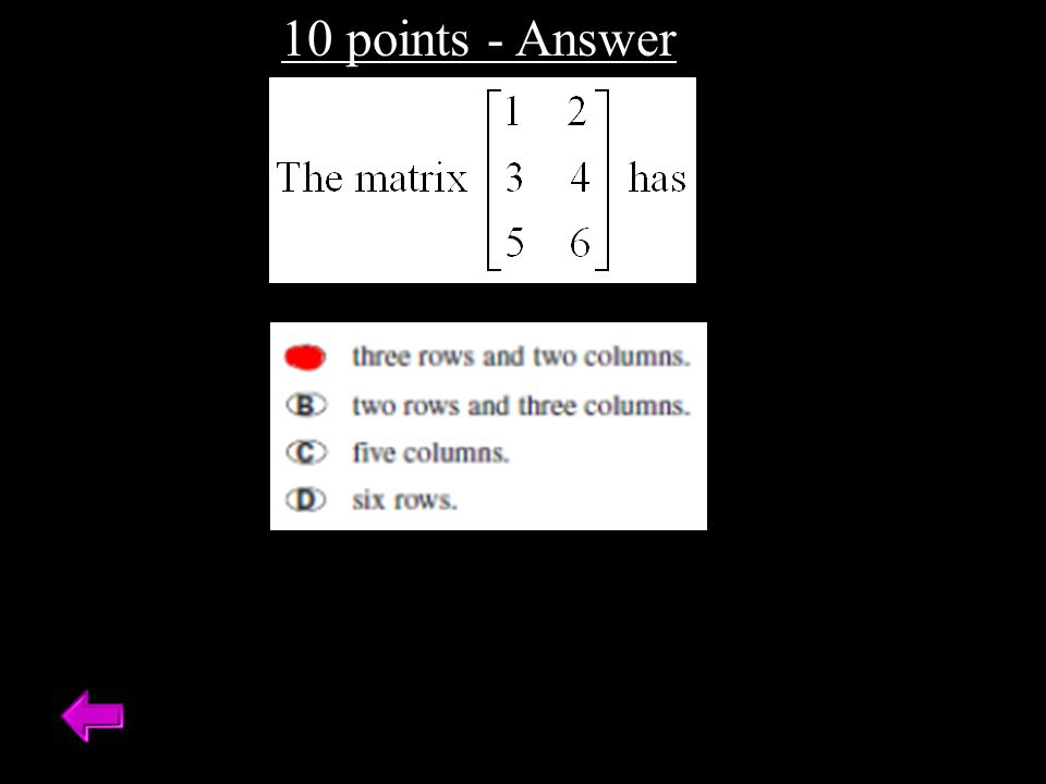 20 points Use an inverse matrix to solve the linear system.