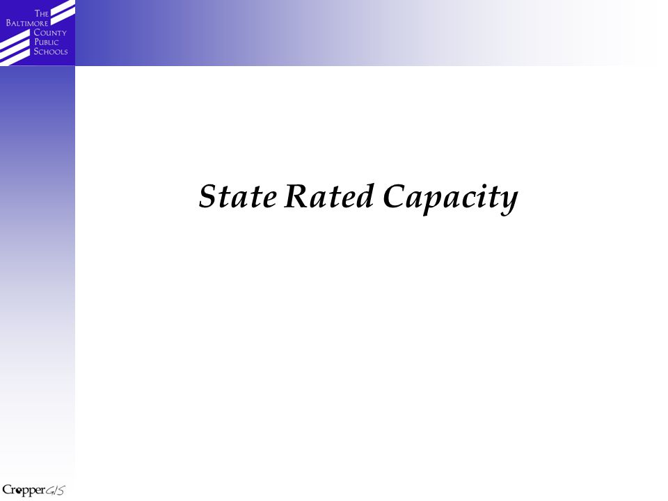 State Rated Capacity