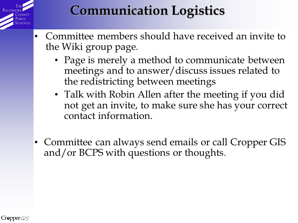 Committee members should have received an invite to the Wiki group page.