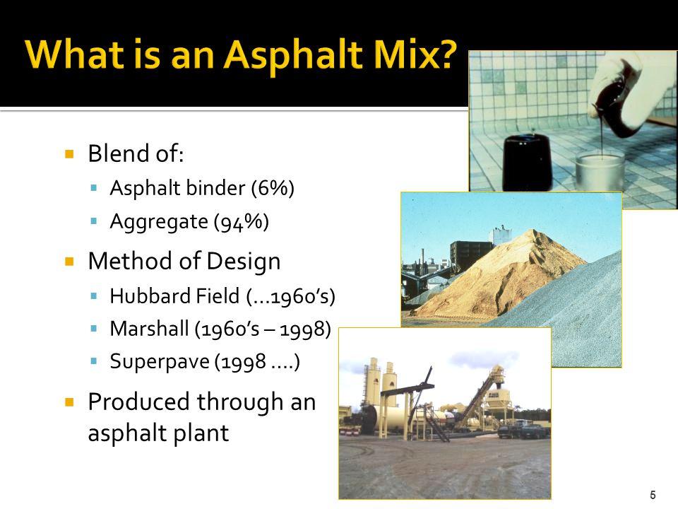  PG 67-22 – Standard Grade  <20% Reclaimed Asphalt Pavement (RAP)  PG 64-22  20 – 29% RAP  Recycling Agent (RA)  ≥ 30% RAP  PG 76-22  PG 67-22 base asphalt + SB or SBS Polymer  ≤ 20% RAP 16