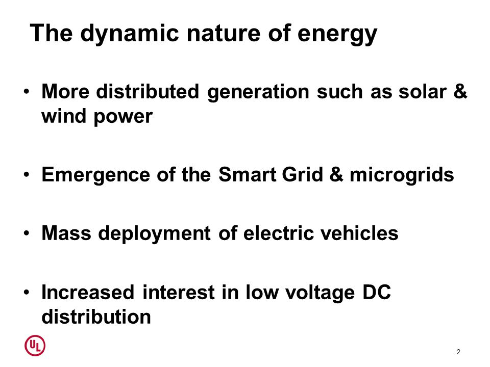 Trends and drivers Energy volatility Increased demand for control Reduced environmental impact New technologies Pricing Energy efficiency 3