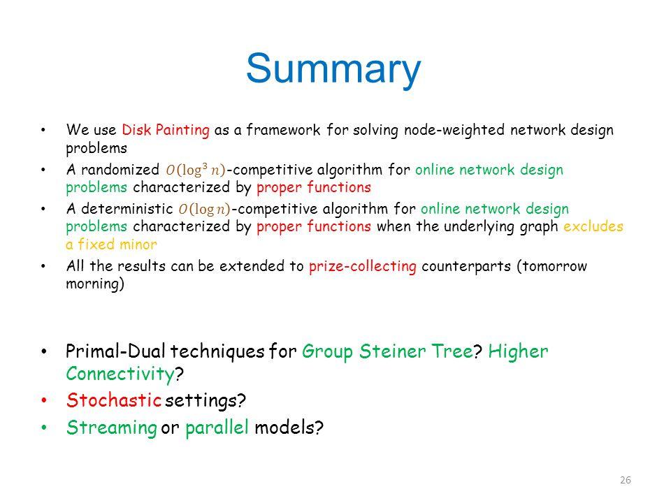 Summary 26