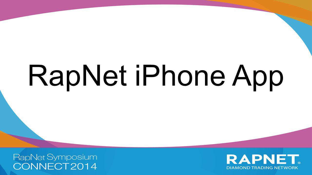 RapNet iPhone App