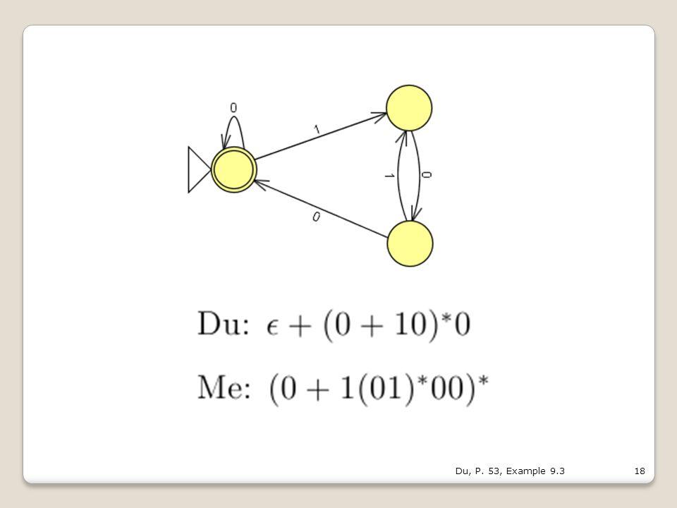 18Du, P. 53, Example 9.3