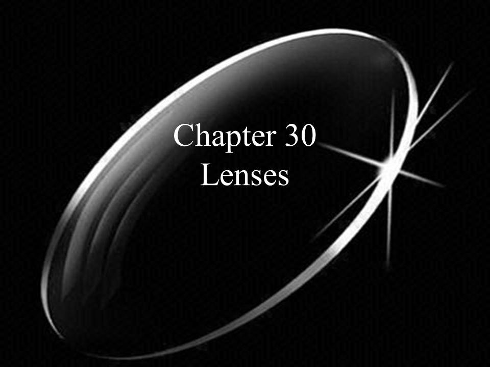 Chapter 30 Lenses