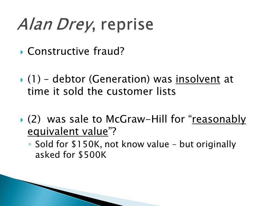  Constructive fraud.