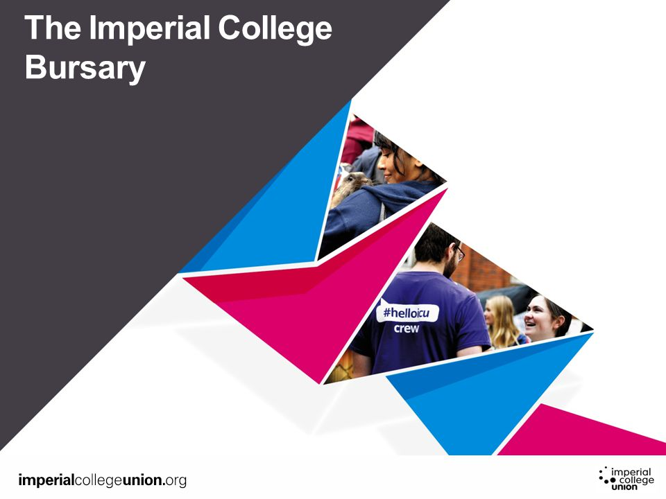 Sub title or year The Imperial College Bursary