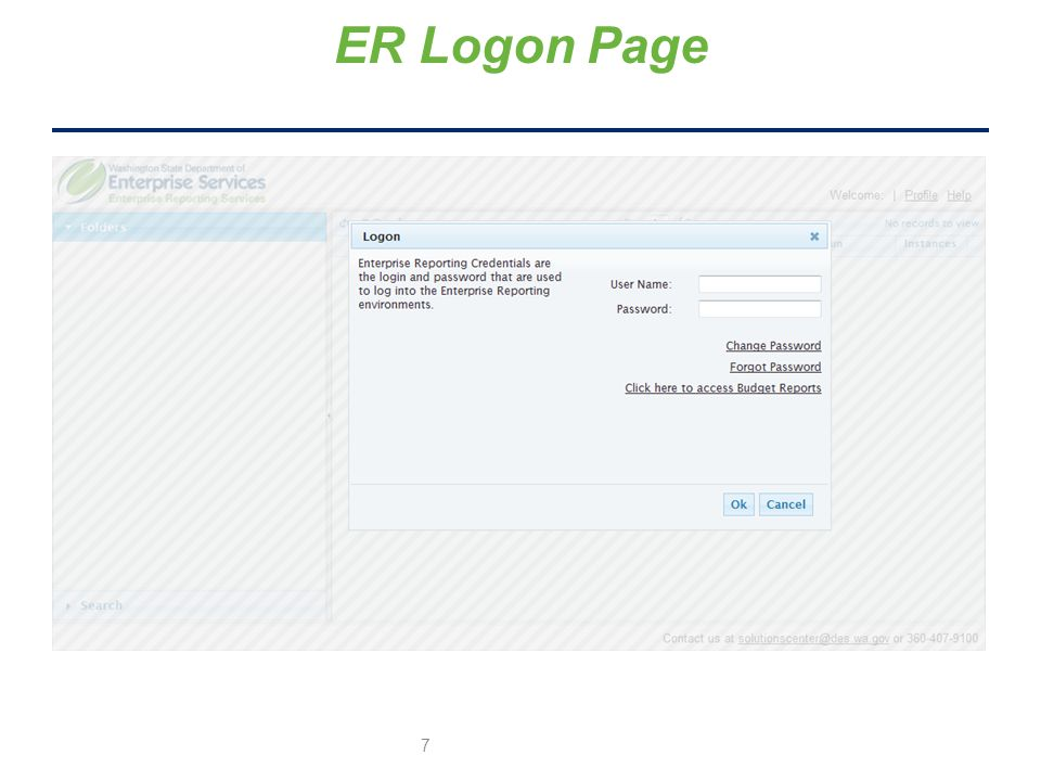 ER Logon Page 7