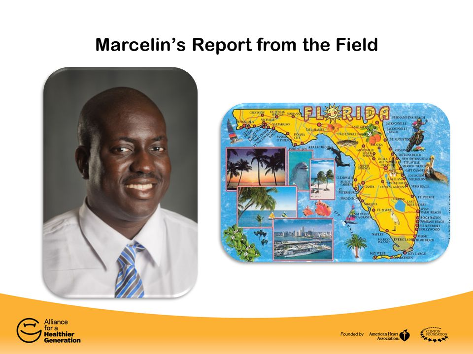 Marcelin's Report from the Field