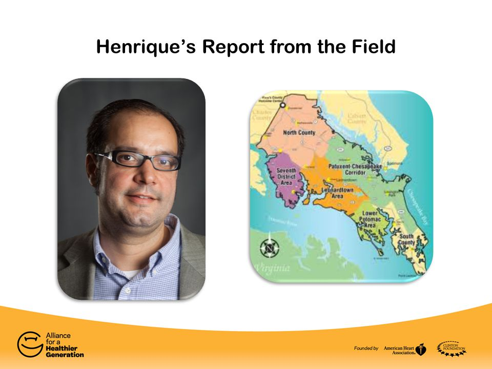 Henrique's Report from the Field