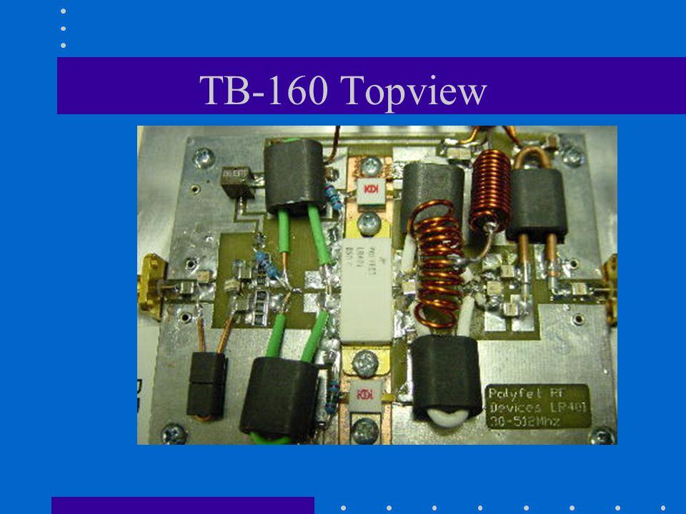 TB-160 Topview