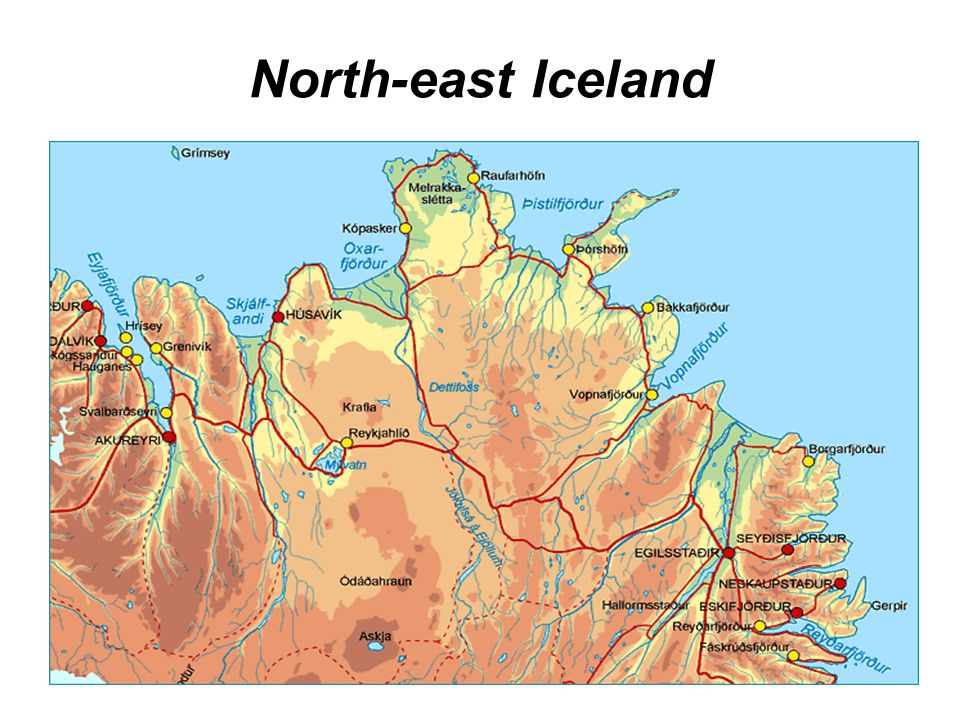 North-east Iceland