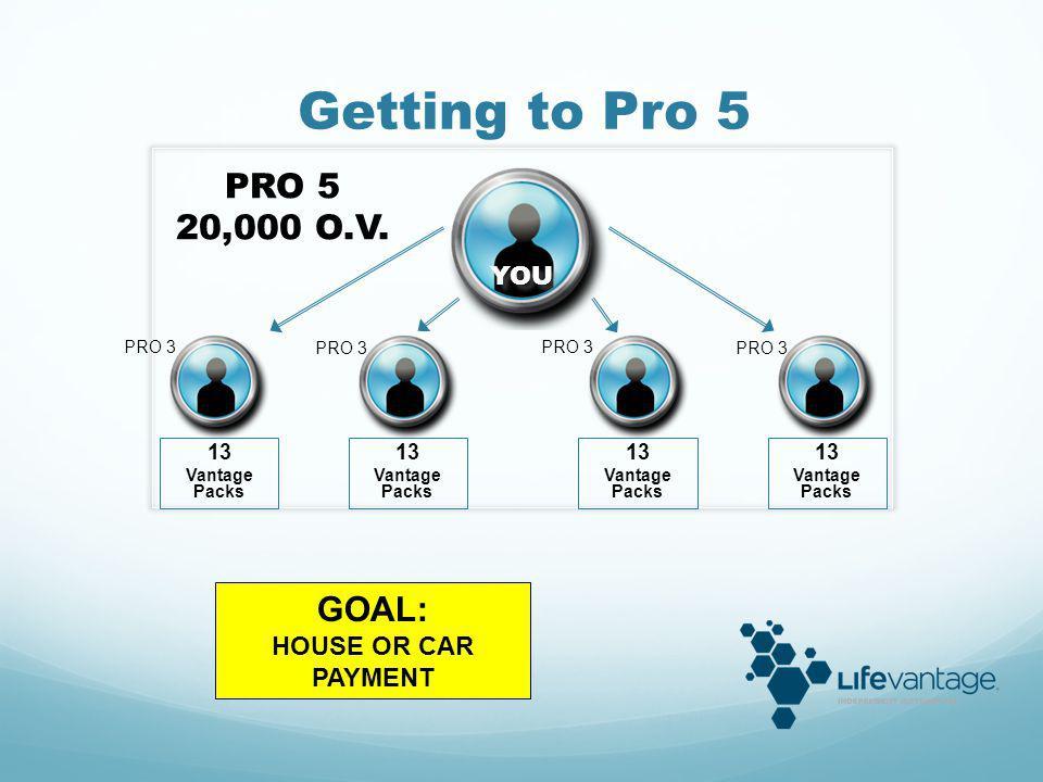 YOU PRO 5 PRO 7 100,000 O.V. PRO 5 PRO 3