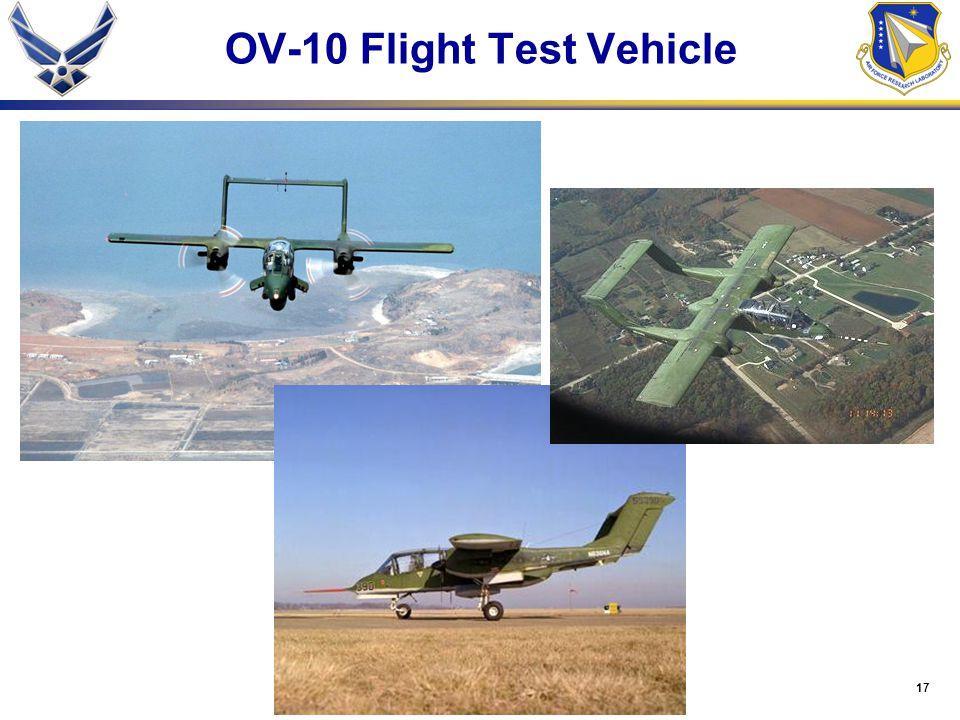 17 OV-10 Flight Test Vehicle
