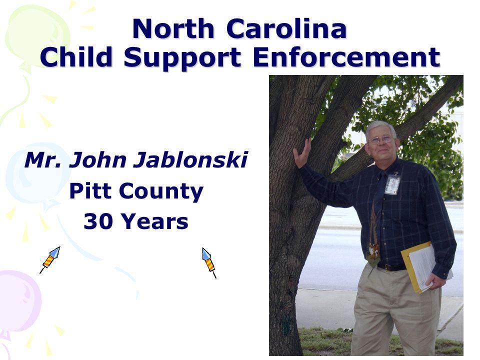 North Carolina Child Support Enforcement Ms.