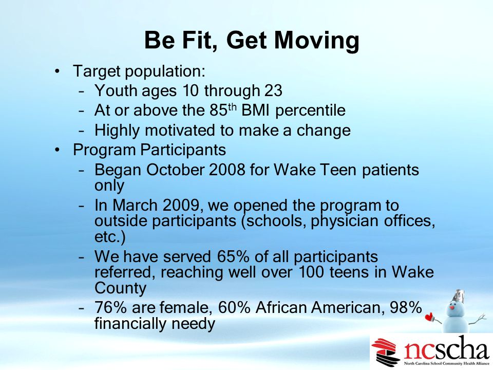 Be Fit, Get Moving Kate B.