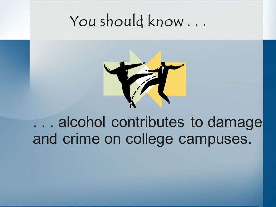 ...students overestimate the level of alcohol and other drug use by their peers.