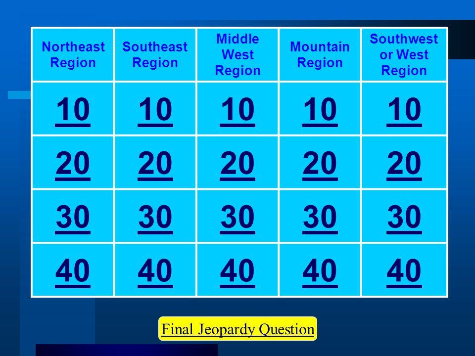 Jeopardy Start