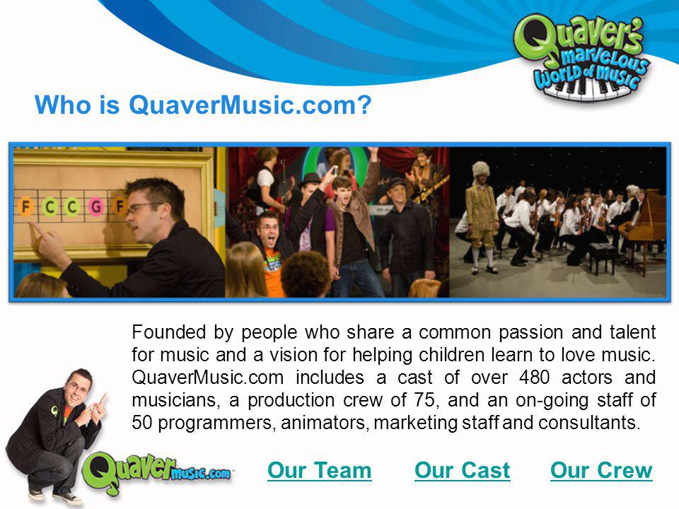 Founded by people who share a common passion and talent for music and a vision for helping children learn to love music.